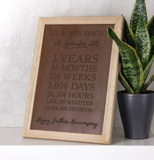 Leather Time Print (3rd Anniversary)