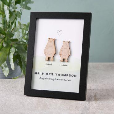 Bear Character Couples Print