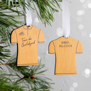 Cycling Jersey Hanging Christmas Decoration