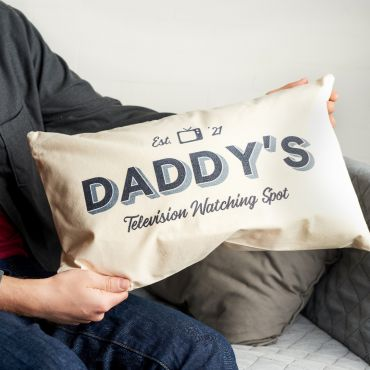 Personalised Television Watching Spot Cushion