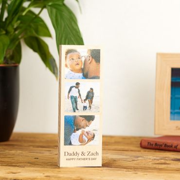 Personalised Wooden Photo Strip