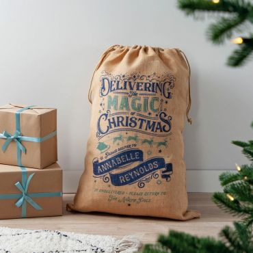 The Magic of Christmas Personalised Sack