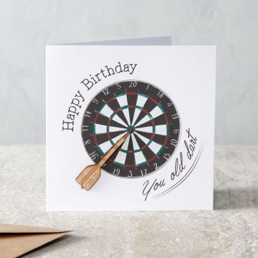 You Old Dart Birthday Card