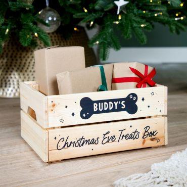 Bone & Stars Pets Christmas Treats Crate
