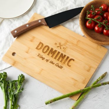 Personalised Engraved Name Chopping Board