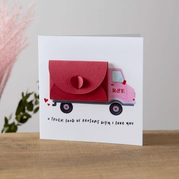 Truck Loads of Love Card