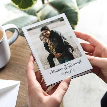 Wooden Photo Keepsake Card