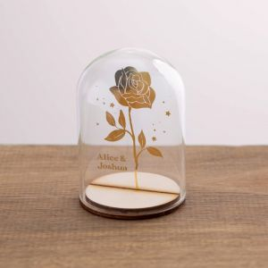 Rose Dome - Foiled Design