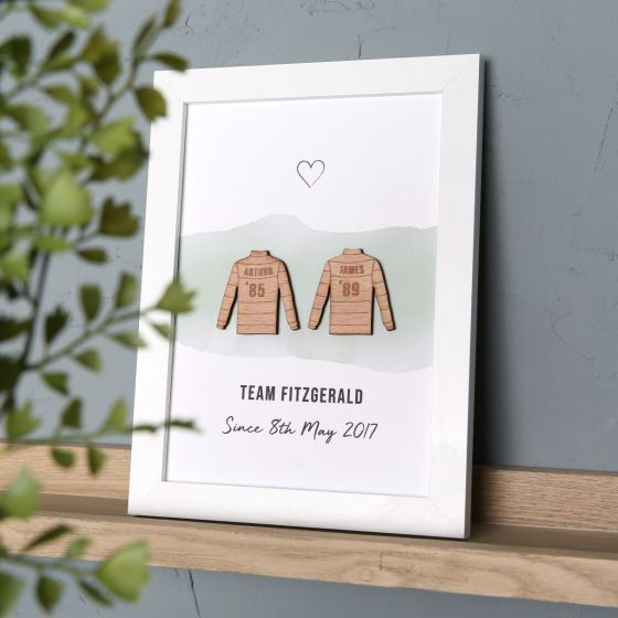 Rugby Character Couples Print
