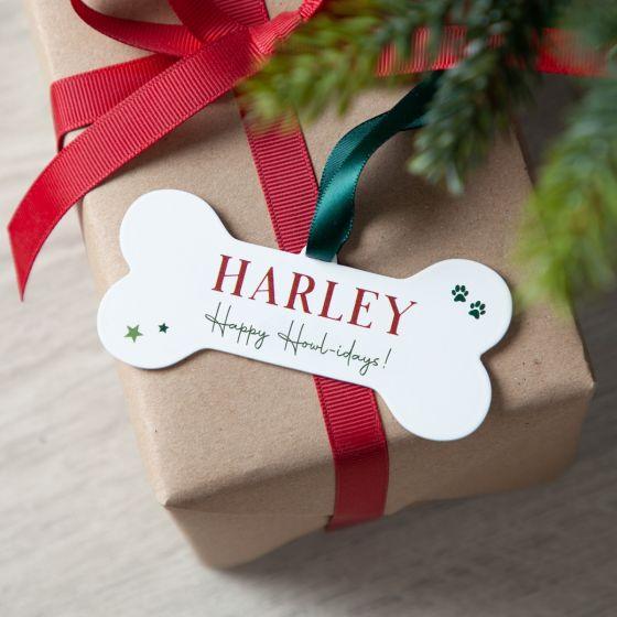 Personalised Bone Pets Christmas Decoration