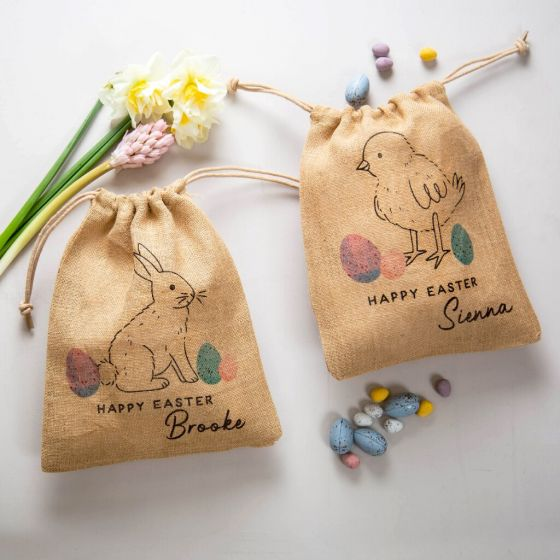 Happy Easter Treat Bag