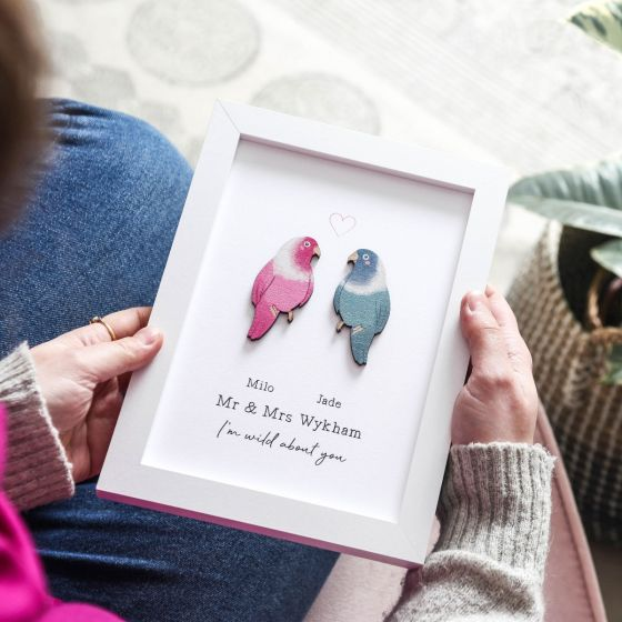 Couples Lovebirds Print