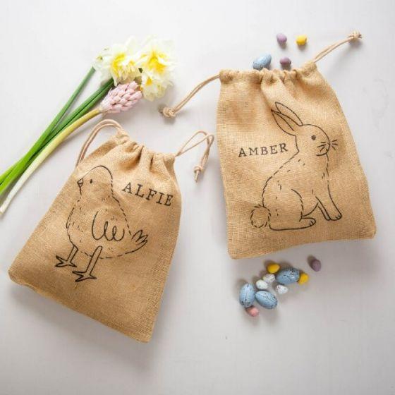 Personalised Easter Treat Bag