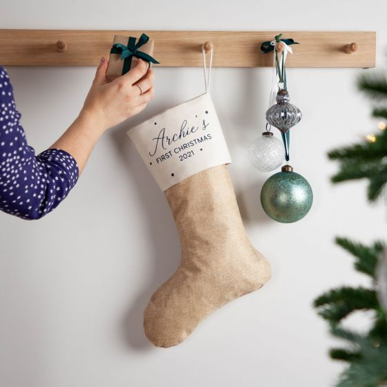 Personalised First Christmas Stocking