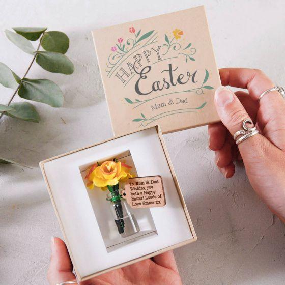 Easter Daffodil Box