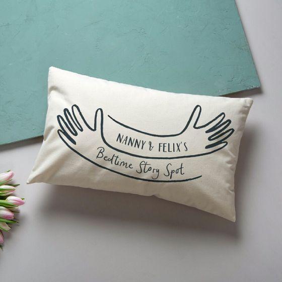 Personalised Bedtime Story Hug Cushion