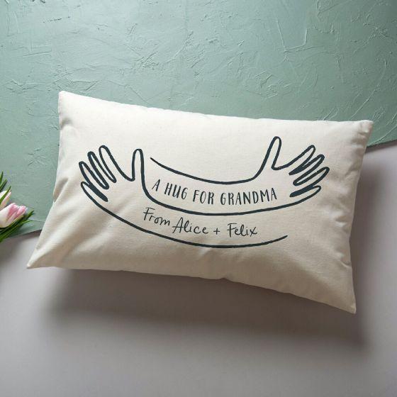 Personalised Hug Cushion