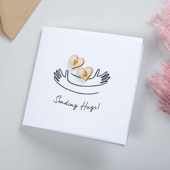 Sending Hugs Keepsake Card