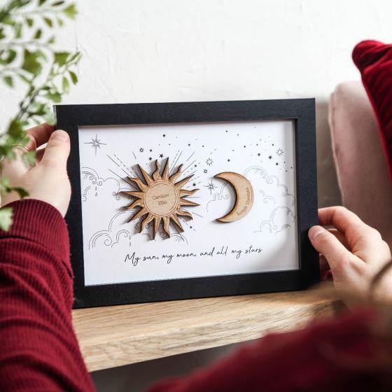 Sun & Moon Couples Print