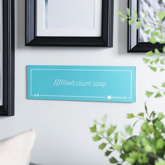 what3words Exterior & Interior Signs