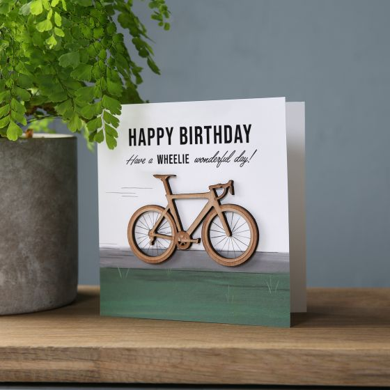 Wheelie Great Birthday Card
