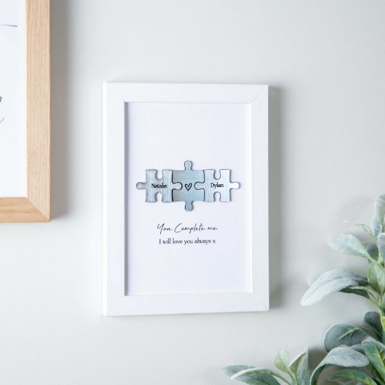 You Complete Me Couples Puzzle Print